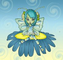 Butterfly fairy by Dianabolique
