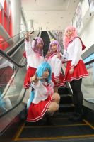 Lucky Star costrip by jactinglim