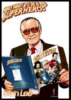 Stan Lee figure by Thegerjoos