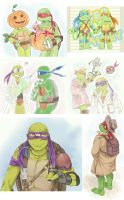 tmnt log 2 by LinART