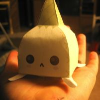 Gaia ZOMG Garlic papercraft by emonekokat