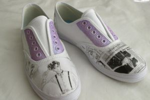 Sailor moon shoes purple by ShopFantasy