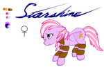 Request: OC Pony: Starshine by WingWind