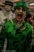 Zombie Riddler Cosplay by BioVenomImagery