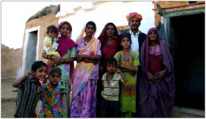 Rajasthani family by Gregos