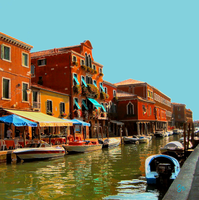 A Murano canal from another perspective by JJPoatree