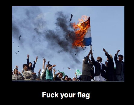 Burn flags, narrow-mindedness and nationalism! by Platinum1995
