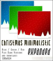 Christmas Minimalistic Exp by evodesign