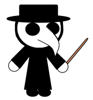 Chibi Plague Doctor by nogirl70
