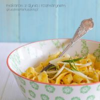 pumpkin spice and rosemary tagliatelle by Pokakulka