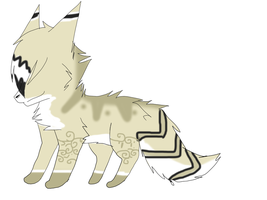 wolf adoptable by Icey-adopts