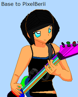 Emiko plays guitar by sharkgirl98