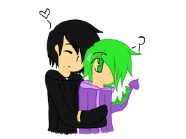 Ninjago/Friendship is Magic: Cole and Spike by strawberrybunny4341