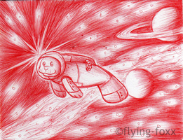 To Go Where No Manatee Has Gone Before by Flying-Foxx