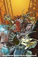 Scrappers Cover Art by cwalton73
