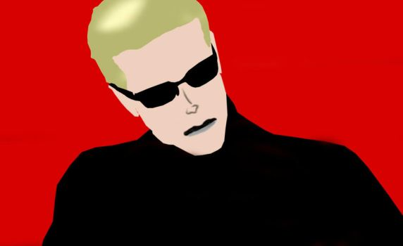 Albert Wesker by GronHatchat