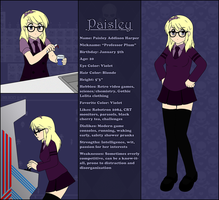 Paisley's Profile by MrBlueMonday