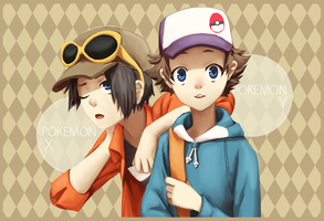 SHOTAMON X+Y by tinhan