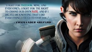 Fem Shep Wallpaper by DraconicParagon