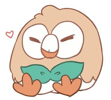 Rowlet by zexions