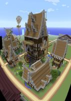 Plot World--Server Documentation--Plot Build by MinecraftPhotography