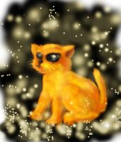a kitty!!! by huxne123