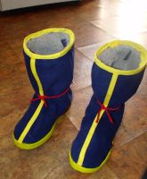 Dragon Ball- Goku's boots by chipface-zero