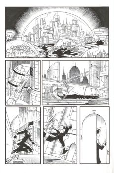 Inked Short Comic by WillCapers