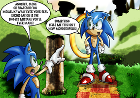 Archie Vs Fleetway: Sonic's by kintobor