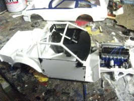 The completed cokpit by vash68