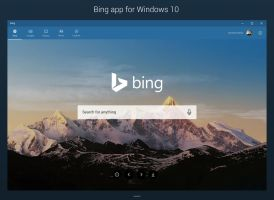 Bing app for Windows 10 - Concept by armend07