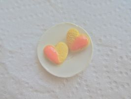 Heart cookies by AGTCT