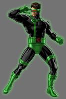 Green Lantern Cyclops by Lord-Lycan