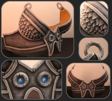 Skyshatter Breastplate Detail by ChickenChopsticks