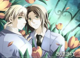 APH: LITHUANIAxUK: DL GARTEN01 by BOMB4Y
