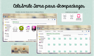Tema de Iconpackager [Celesmile] by CrisColors