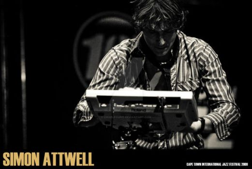CT Jazz Fest Simon Attwell 2 by charlfourie