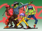 Gorillaz Armed by Sapphire1010