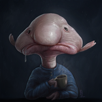 Blobfish by danieljoelnewman