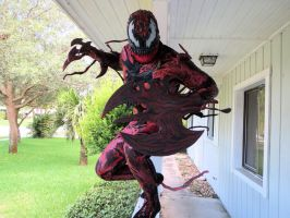 NEW CARNAGE COSPLAY COMPLETED by symbiote-x