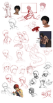 Ace Sketchdump by charce