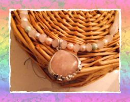 Real pearl necklace by Rini-Dragoone
