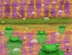 Bullfrogs and Bubble-Pipes by LukasThorne