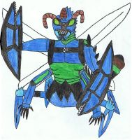 Ben10 Combination-Crab jet by siborg626