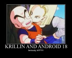 Krillin and C18 Motivator by kjstyles2x-treme
