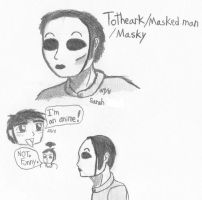Masky scribbles by Agent-Sarah