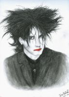 Portrait of Robert Smith by PyramidHeadxXx