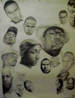 The faces of hiphop by toge-NYC