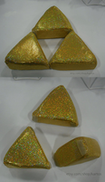 Triforce Pillows by kartos