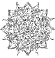 Floral Mandala by WelshPixie